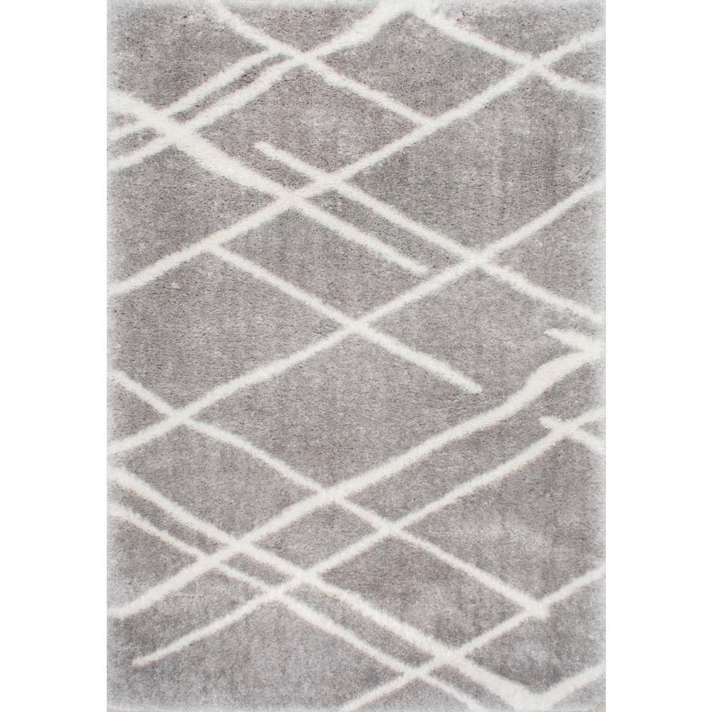 Nuloom Dupree Lattice Grey 8 Ft X 10 Area Rug