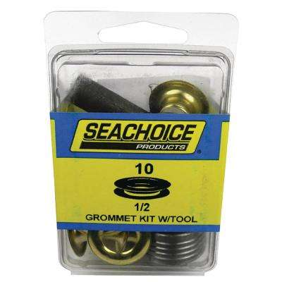 1/2 in. Grommets Kit with Tool (10-Set)