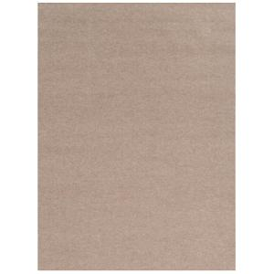 Foss Ribbed Taupe 6 Ft X 8 Indoor Outdoor Area Rug