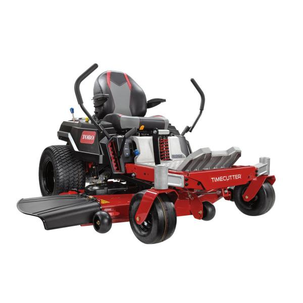 54 in. TimeCutter IronForged Deck 24.5 HP Toro Commercial V-Twin Gas Dual Hydrostatic Zero Turn Riding Mower with MyRIDE