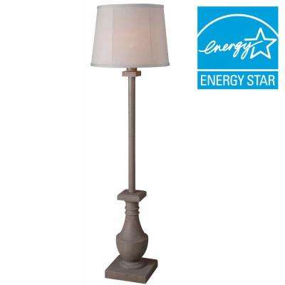 Patio 58 In. Coquina Outdoor Floor Lamp