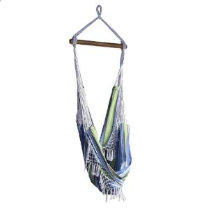 Vivere 2.5 ft. Brazilian Style Cotton Hammock Chair in Oasis by Vivere
