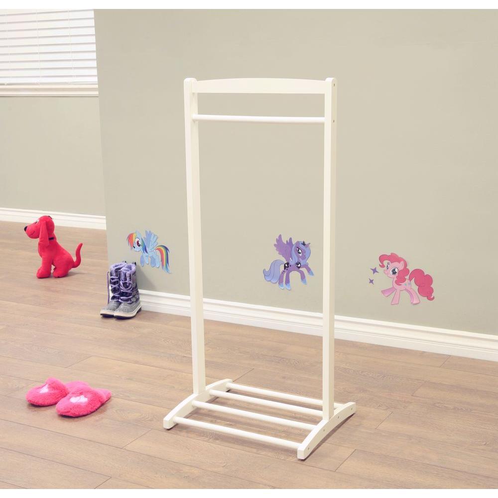 Homecraft Furniture 1 Hook Kid S Contemporary Wooden Cloths Hanger