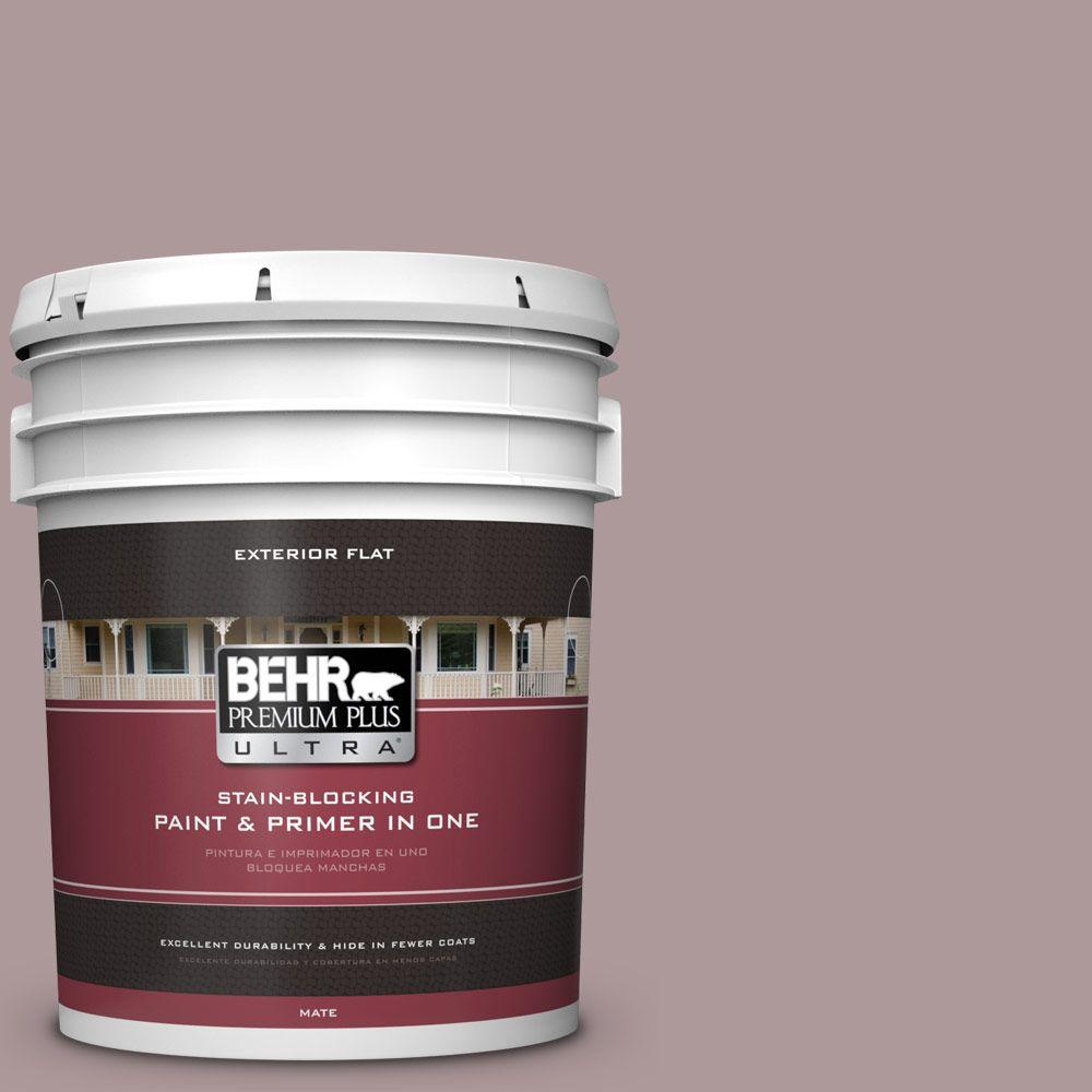 5-gal. #110F-4 Heirloom Orchid Flat Exterior Paint