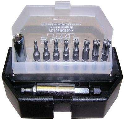Ball Torx Bit Set (11-Piece)