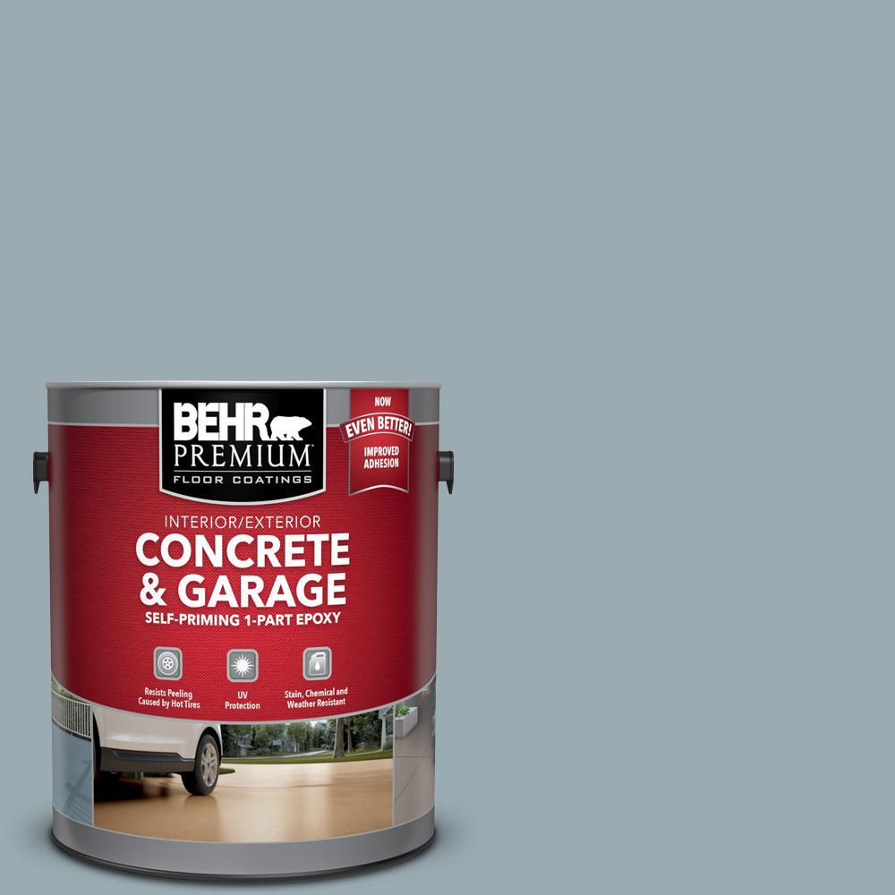 1 gal. #PFC-52 Polar Drift Self-Priming 1-Part Epoxy Satin Interior/Exterior Concrete and Garage Floor Paint