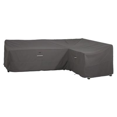 Ravenna 106 in. L (85 in. L Right) x 34 in. W x 31 in. H Patio Right Facing L-Shape Sectional Lounge Set Cover