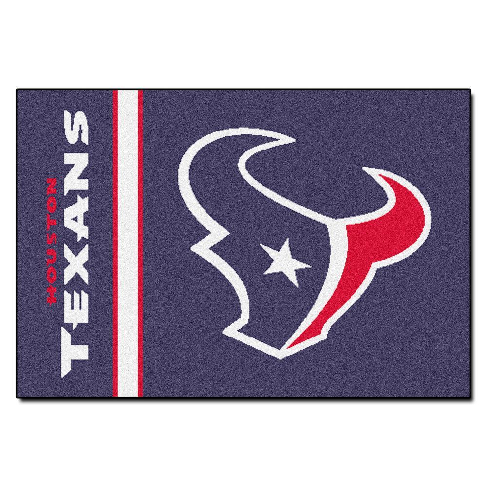 NFL Houston Texans Uniform Inspired Navy Blue 2 ft. x 3 ft. Area Rug