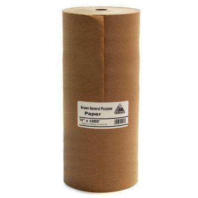 18 in. x 1000 ft. Brown Masking Paper