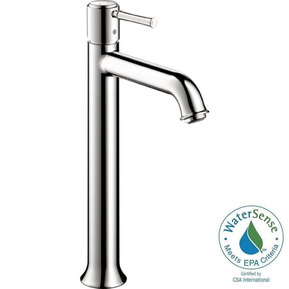 Talis C Single Hole 1-Handle Mid-Arc Bathroom Faucet in Chrome