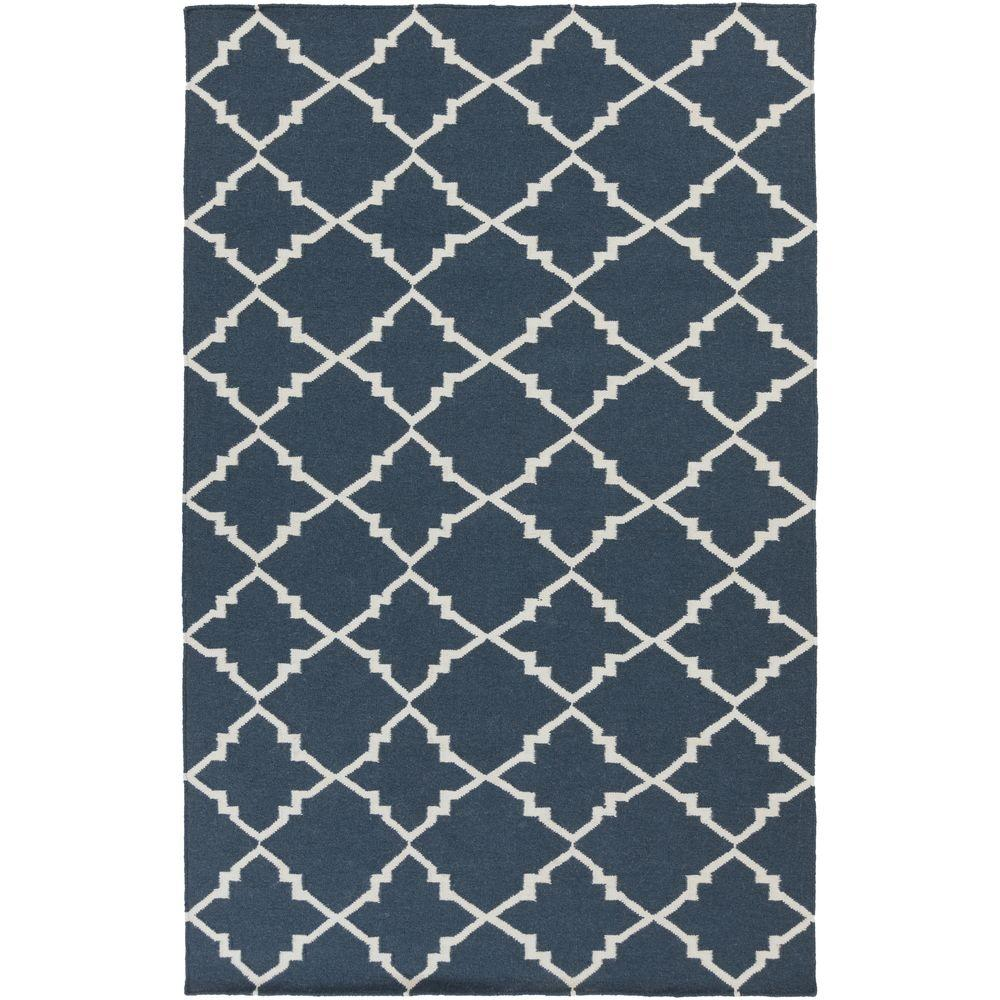 Alea Blue 8 ft. x 11 ft. Indoor Area Rug