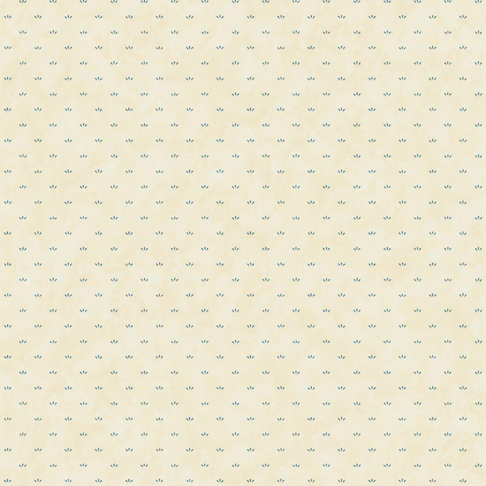 The Wallpaper Company 8 in. x 10 in. Blue Tear Drop Spot Wallpaper Sample-DISCONTINUED