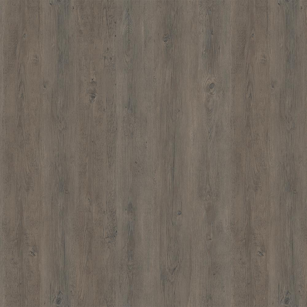 LifeProof Take Home Sample - Midnight Oak Mocha Luxury Rigid Vinyl Plank Flooring - 4 in. x 4 in.