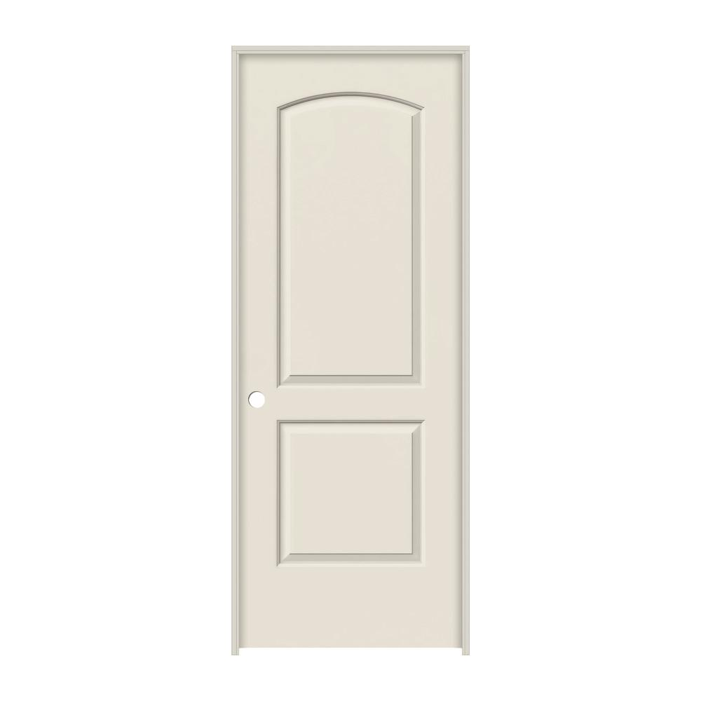 Jeld Wen 30 In X 80 Continental Primed Right Hand Smooth