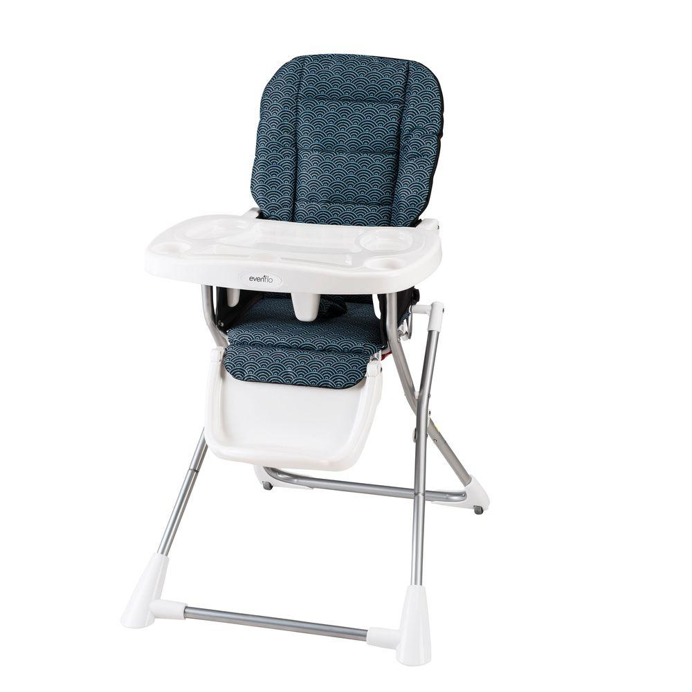 Evenflo Compact Fold High Chair in Koi