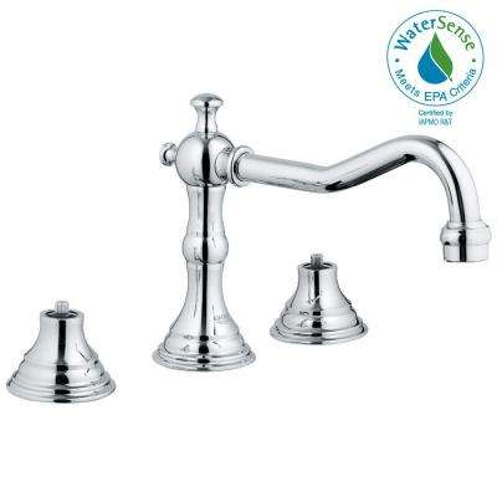 Bridgeford 8 in. Widespread 2-Handle Bathroom Faucet in StarLight Chrome