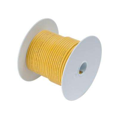 100 ft. 14 AWG Primary Wire Spool, Yellow (Case of 5)