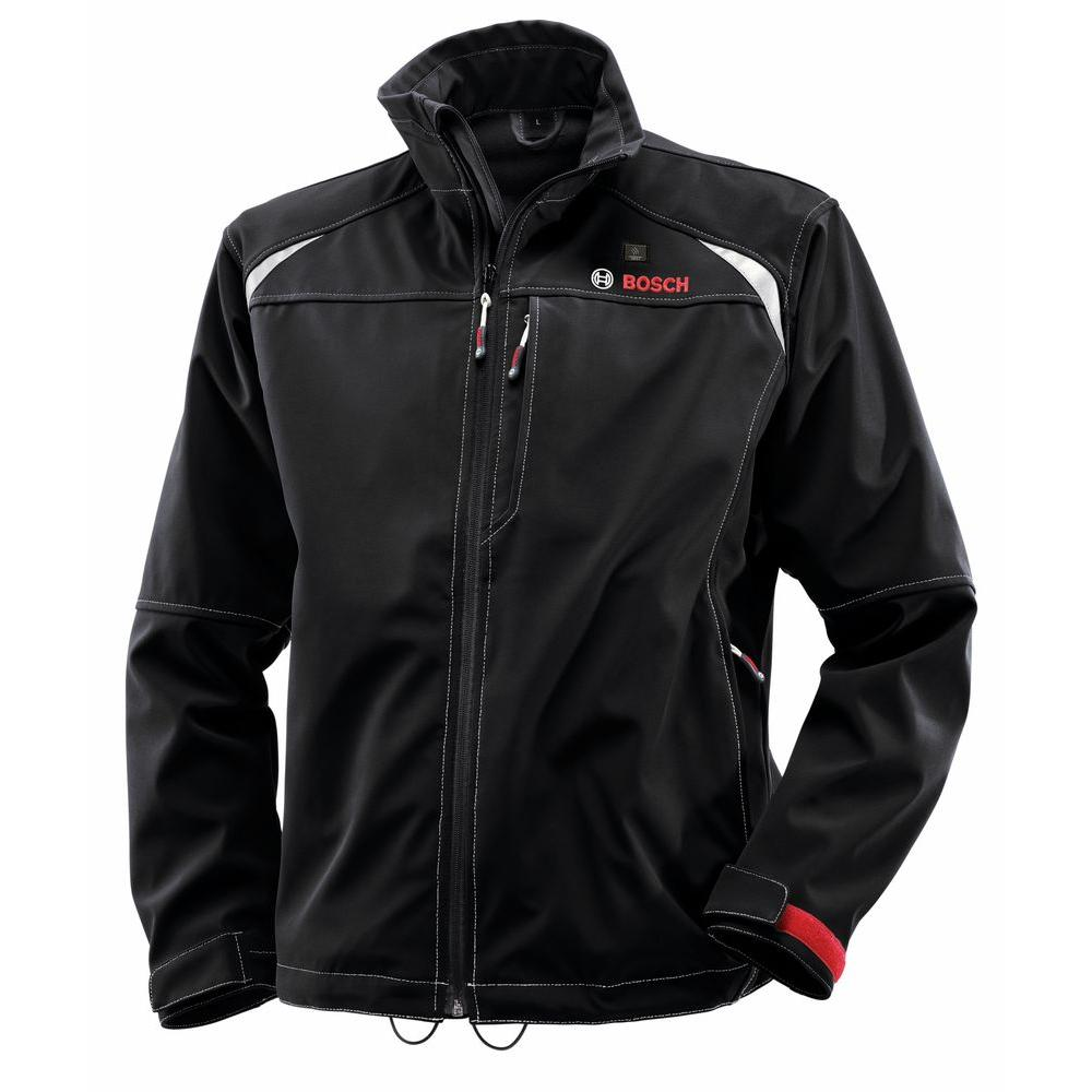 12-Volt Men's Large Black Heated Jacket Kit