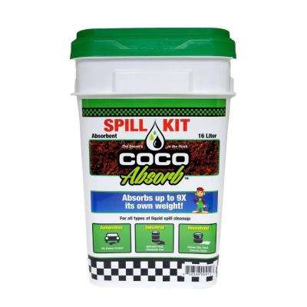 16 l Organic Absorbent Spill Kit