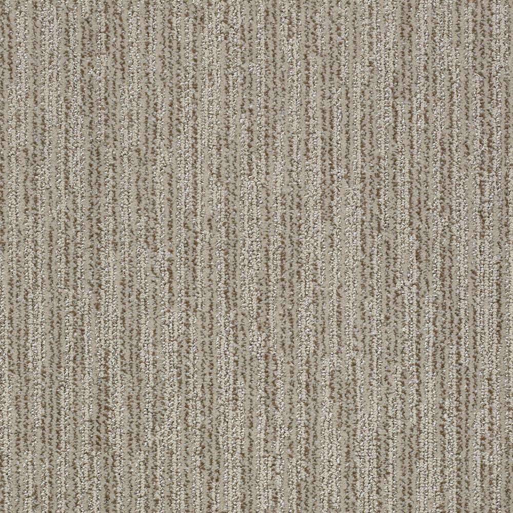 Carpet Sample - Clean Space - Color Worn Path Pattern 8