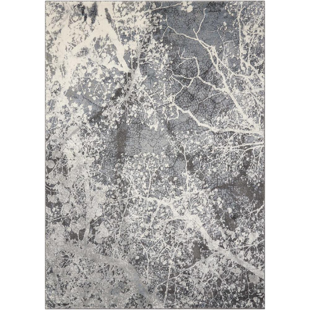 Nourison Maxell Grey 5 ft. x 7 ft. Area Rug