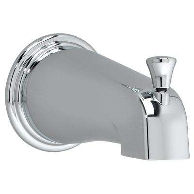 Portsmouth Slip-On Diverter Tub Spout in Polished Chrome