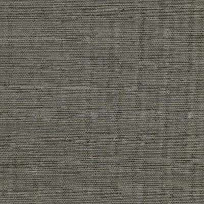 72 sq. ft. Ming Taupe Sisal Grass Cloth Wallpaper