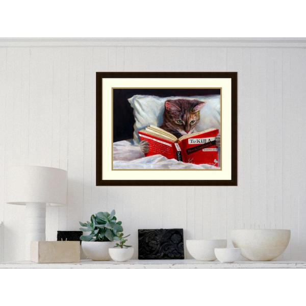 Amanti Art 31 25 In W X 25 25 In H Late Night Thriller Cat By