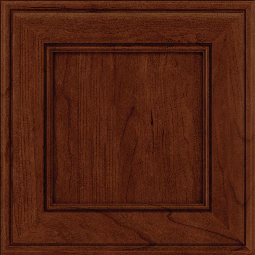 Kraftmaid 15x15 in cabinet door sample in holace cherry for Kraftmaid doors