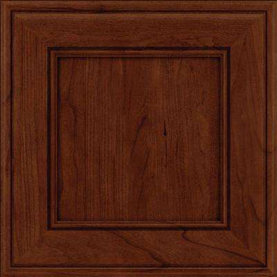 Holace 14 5/8 x 14 5/8 in. Cabinet Door Sample in Autumn Blush