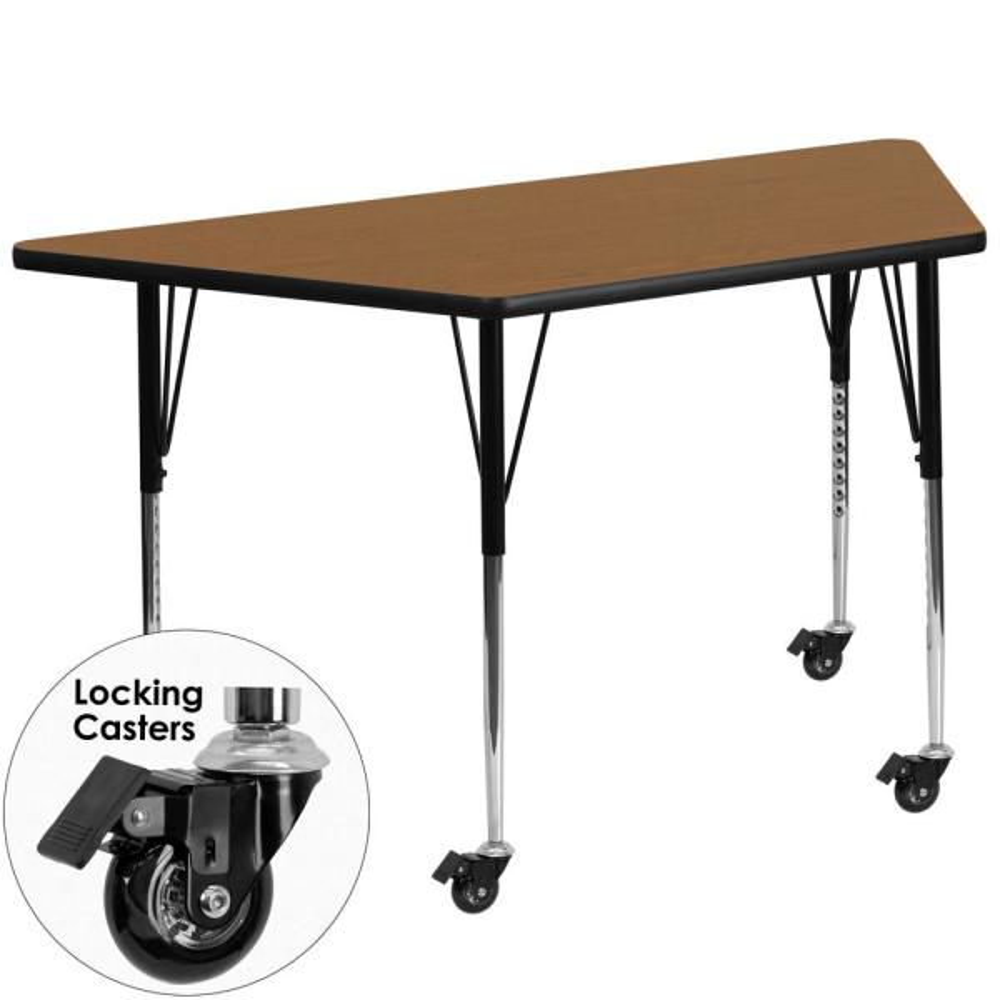 Flash Furniture Oak Kids Table XUA3060TRPOKTAC