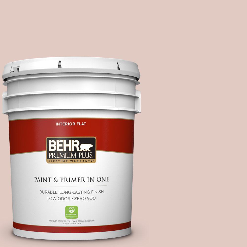 BEHR Premium Plus Home Decorators Collection 5-gal. #HDC-NT-10 Victorian Cameo Zero VOC Flat Interior Paint