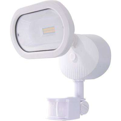 White Outdoor Integrated LED Spot Light