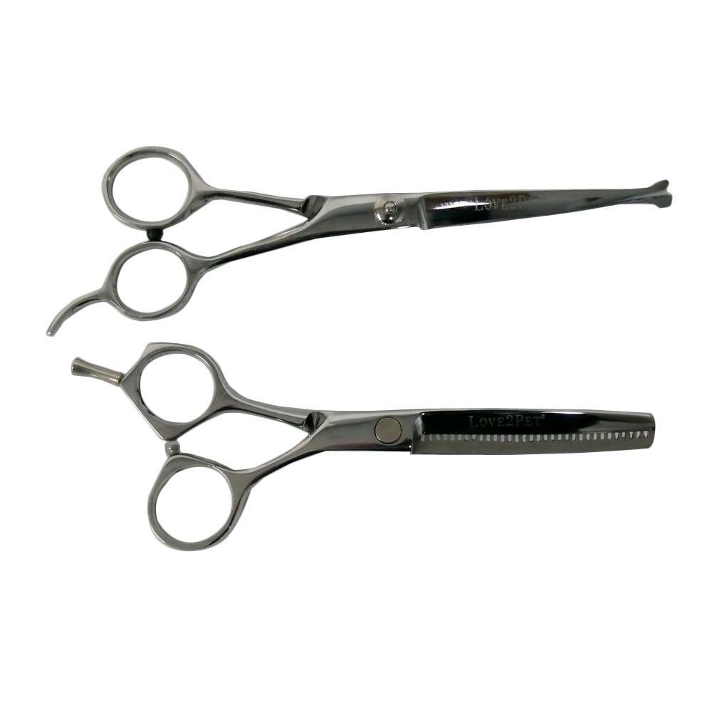 Set of Snip 'n Clip Pet Grooming Scissors