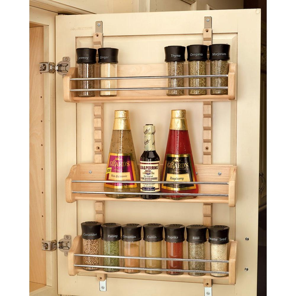 Rev-A-Shelf 25 in. H x 16.125 in. W x 4 in. D Large Cabinet Door ...
