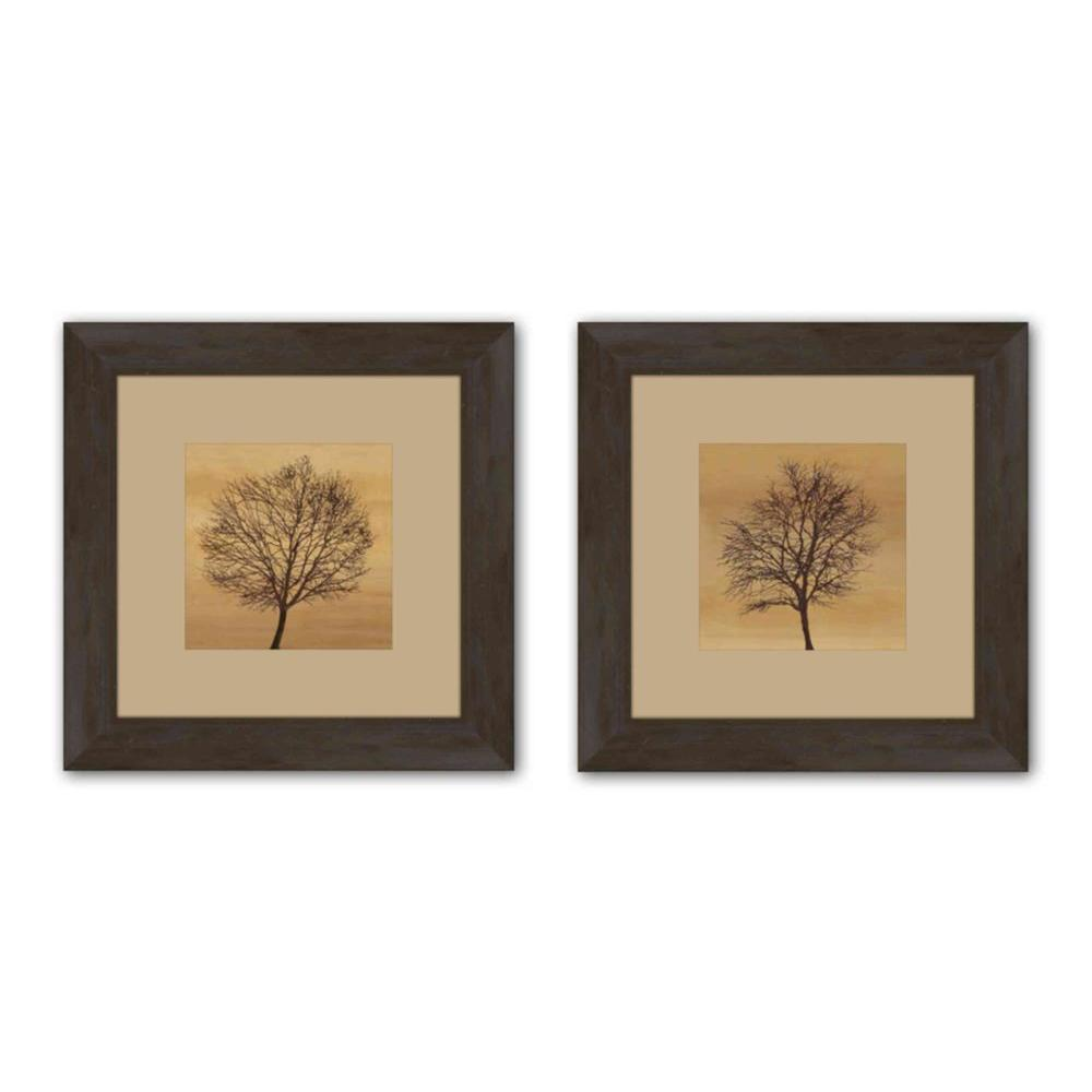 Ptm Images 195 In X 195 In Silhouette Matted Framed Wall Art