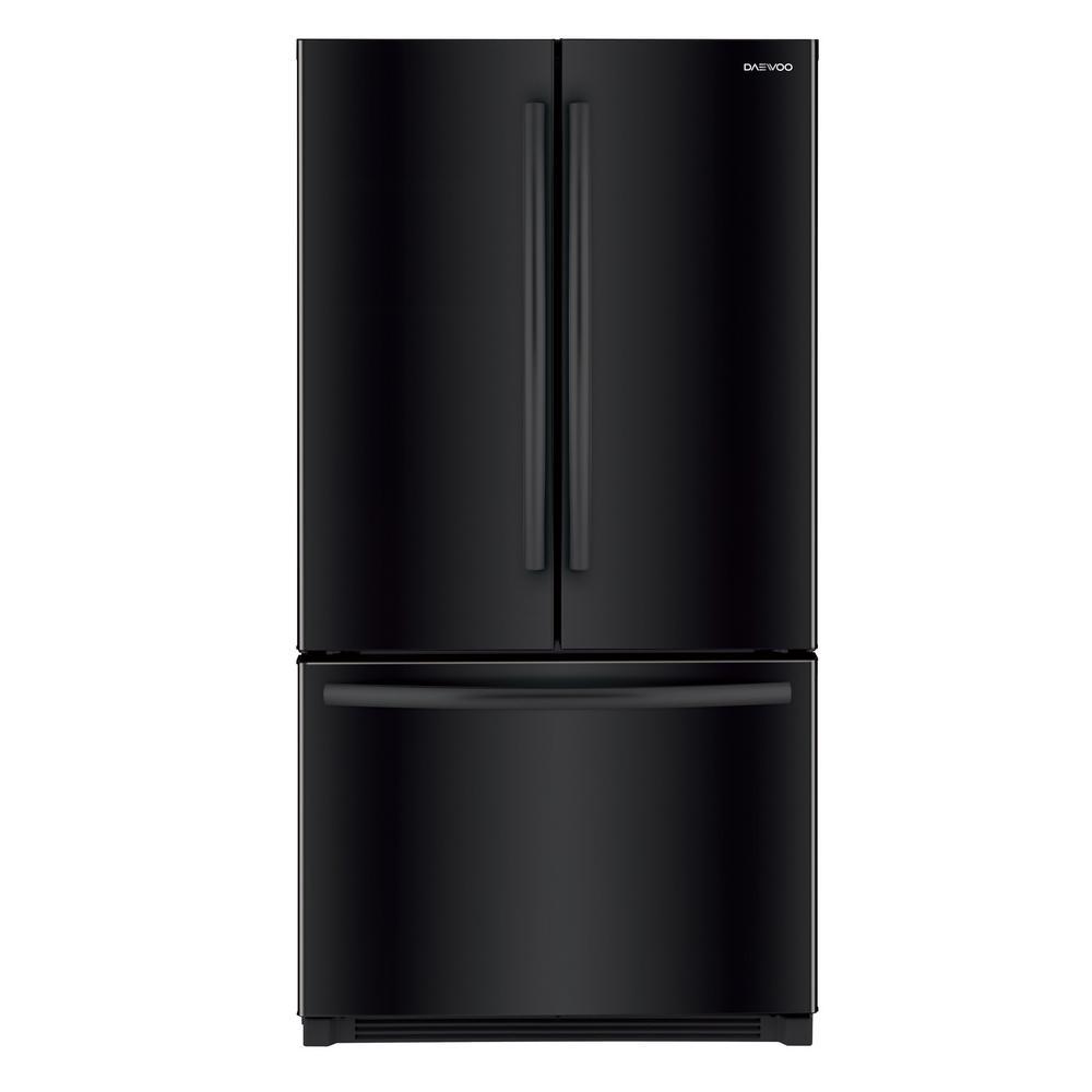 26.1 cu. ft. French Door Refrigerator in Black