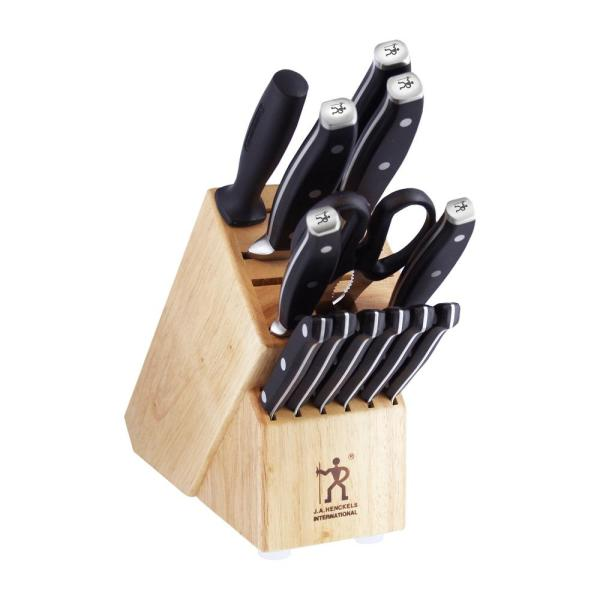 Forged Premio 14-Piece Stainless Steel German Knife Block Set