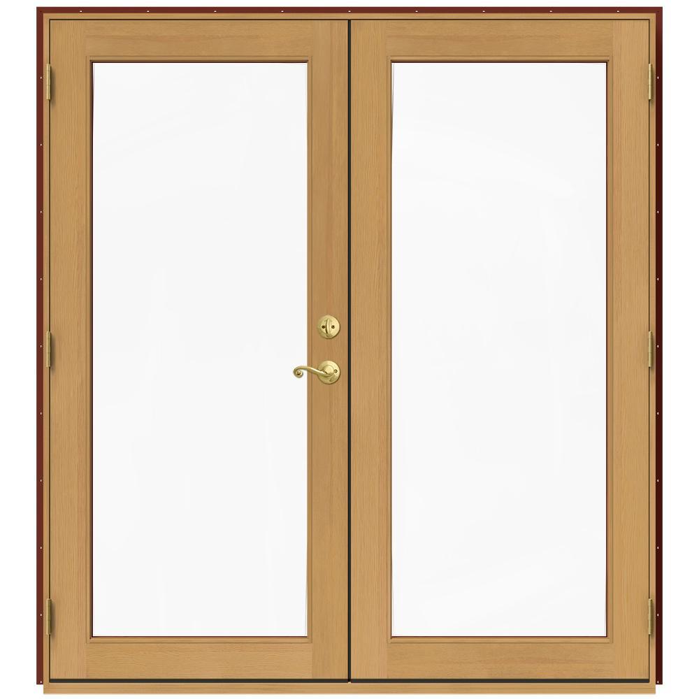 Jeld wen 71 5 in x 79 5 in w 2500 mesa red right hand for 5 patio door
