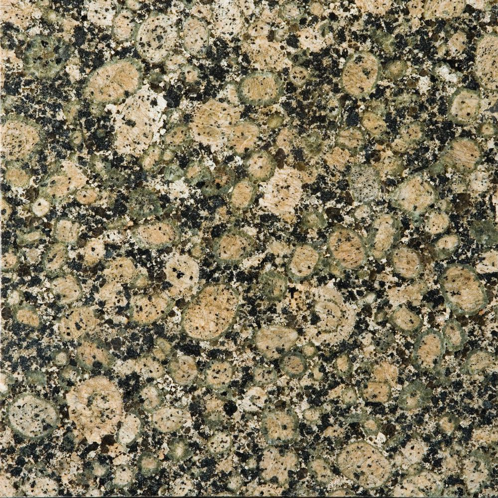 Emser Granite Baltic Brown Polished 12 01 In X 12 01 In