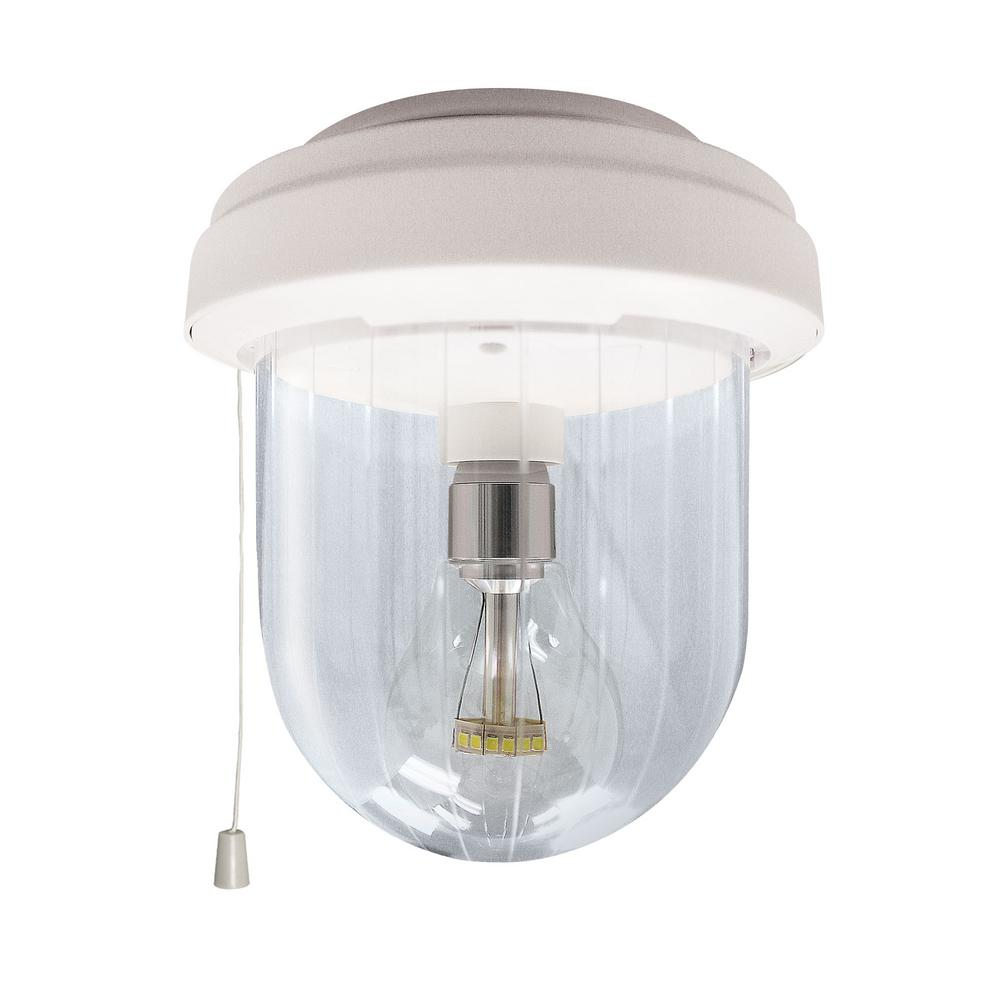 Gama Sonic Solar Shed Light Clear Outdoor Integrated LED