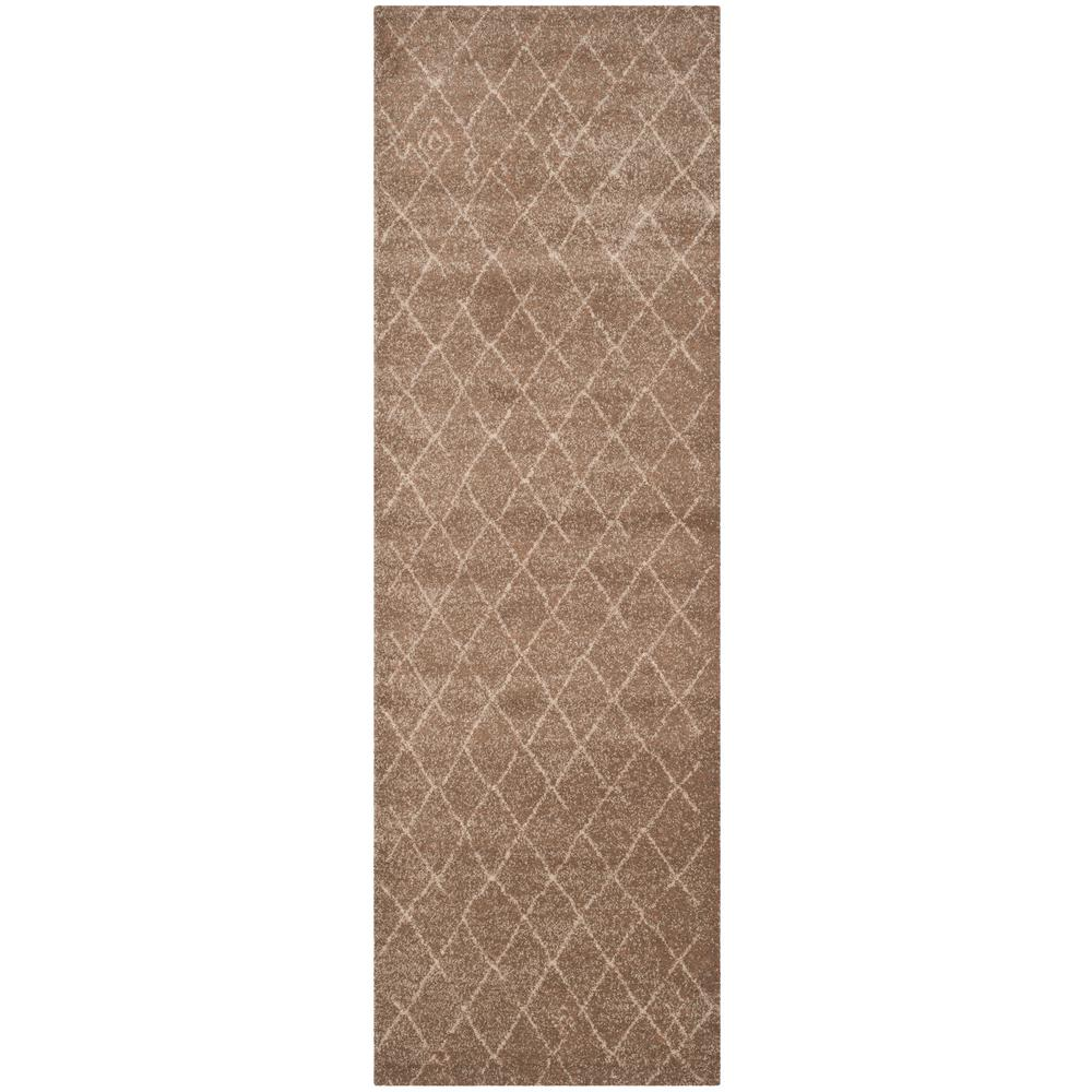 Safavieh Tunisia Brown 3 ft. x 12 ft. Runner Rug