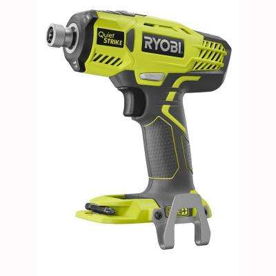 18-Volt ONE+ Cordless 1/4 in. Hex QuietSTRIKE Pulse Driver (Tool-Only) with Belt Clip