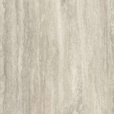 5 in. x 7 in. Laminate Countertop Sample in 180fx Travertine Silver with Scovato Finish