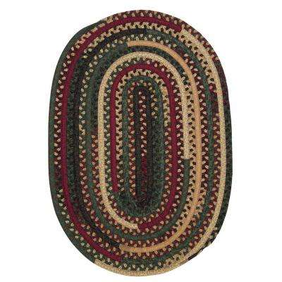 Owen Winter 7 ft. x 9 ft. Oval Braided Area Rug