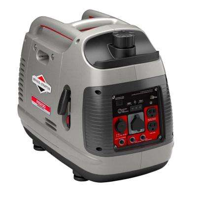 PowerSmart Series 2200-Watt Gasoline Powered Recoil Start Portable Inverter Generator with Engine