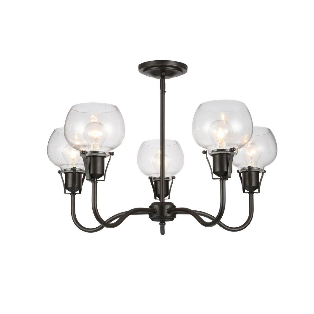 Feiss urban renewal 5 light rustic iron chandelier f28245ri the feiss urban renewal 5 light rustic iron chandelier aloadofball Image collections