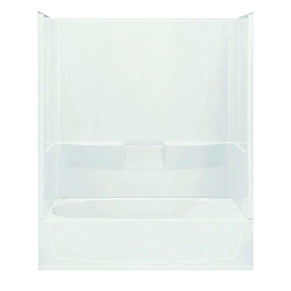STERLING Performa 29 in. x 60 in. x 77-3/4 in. Standard Fit Bath and ...