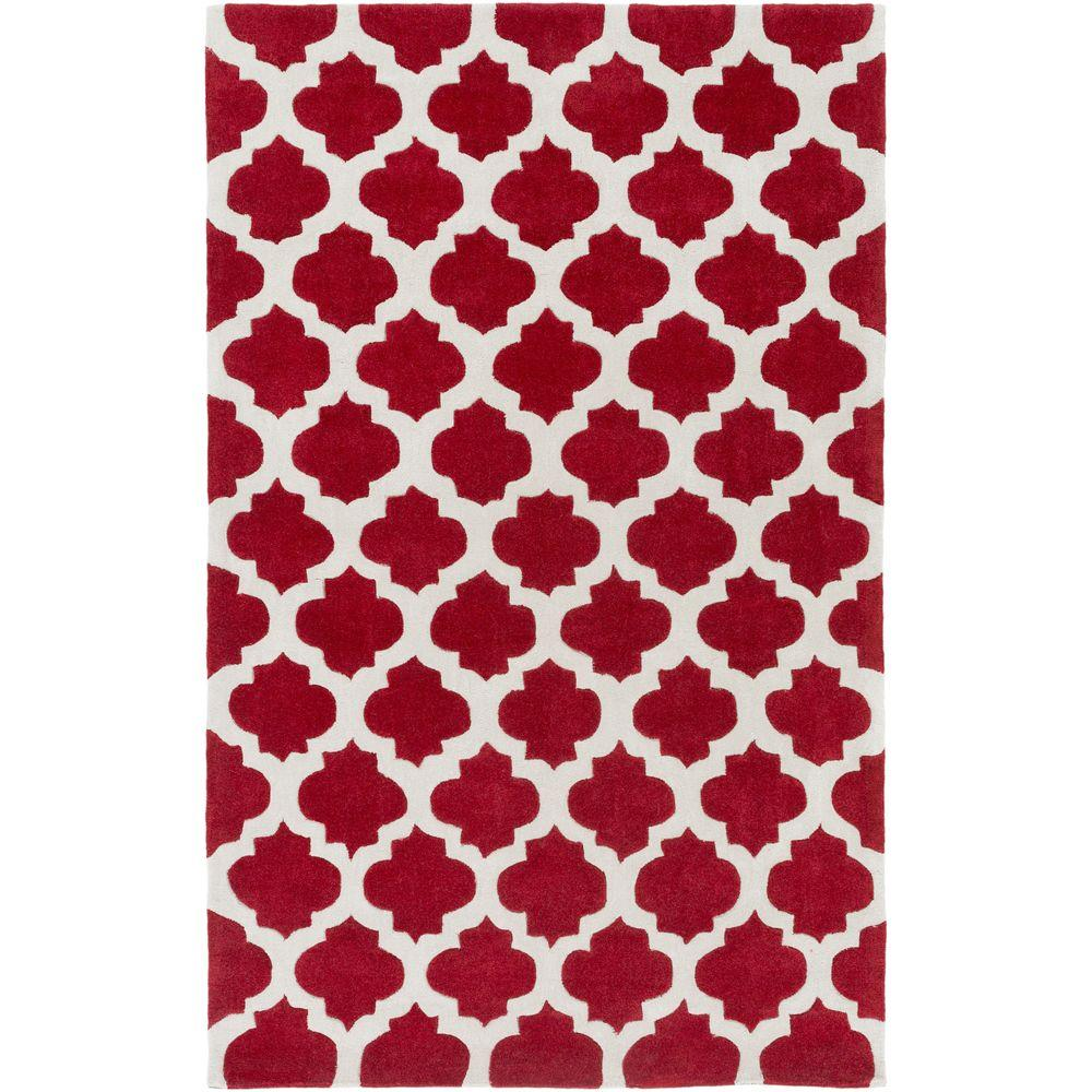 Ettrick Cherry 8 ft. x 11 ft. Indoor Area Rug