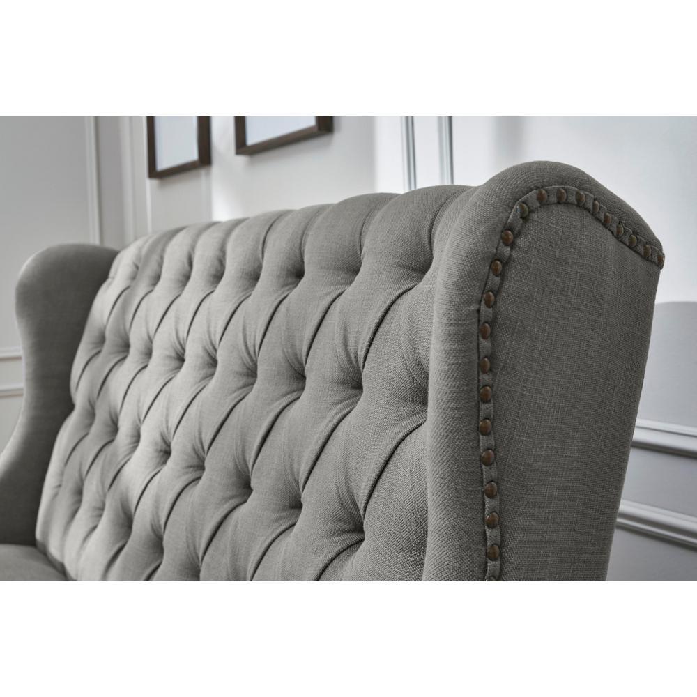 Super Home Decorators Collection Belcrest Upholstered Tufted Pabps2019 Chair Design Images Pabps2019Com